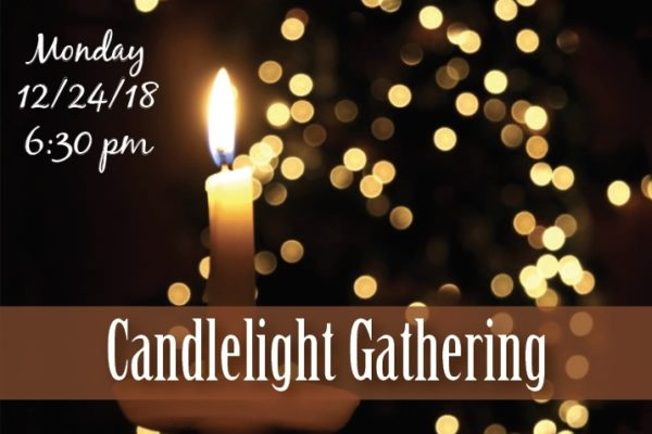 Candlelight Gathering 2018