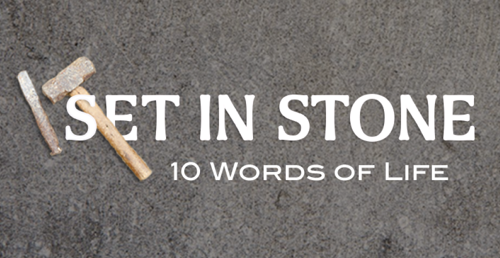 Set in Stone - 10 Word of Life
