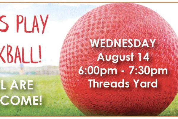 kickball august 14